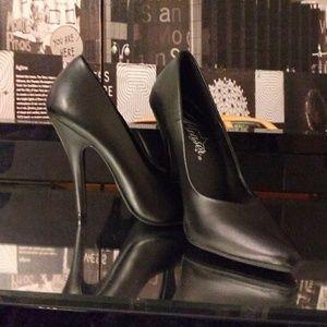 Pleaser blk heels